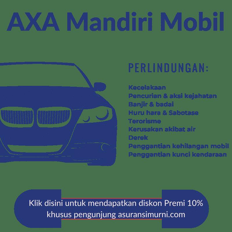 asuransi mobil terbaik dari Mandiri AXA General Indonesia